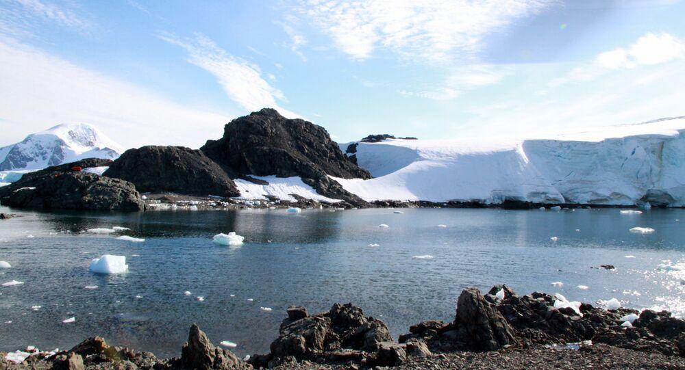 Geleiras da Antártida