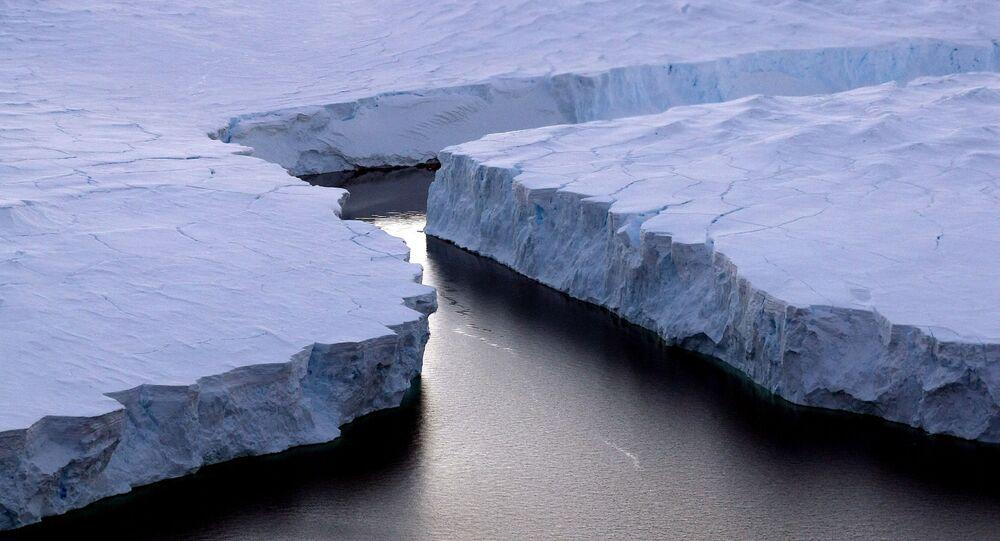 Iceberg na Antártica