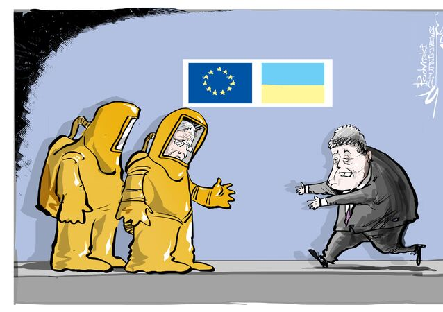 UE quer 'amizade protegida' com Ucrânia, nada mais que isso