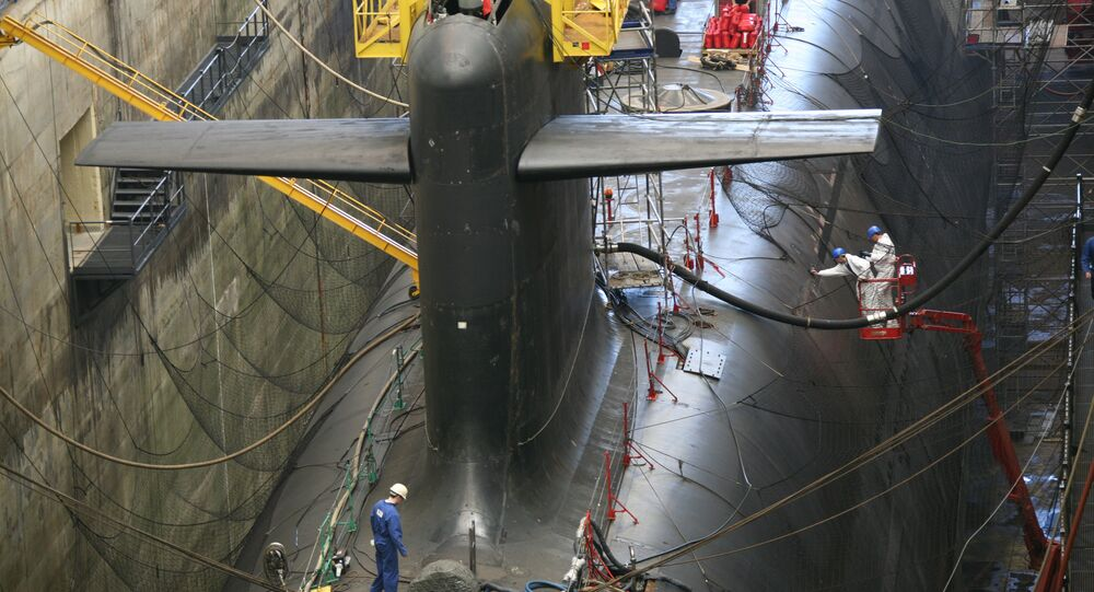 Submarino classe Triomphant (França)