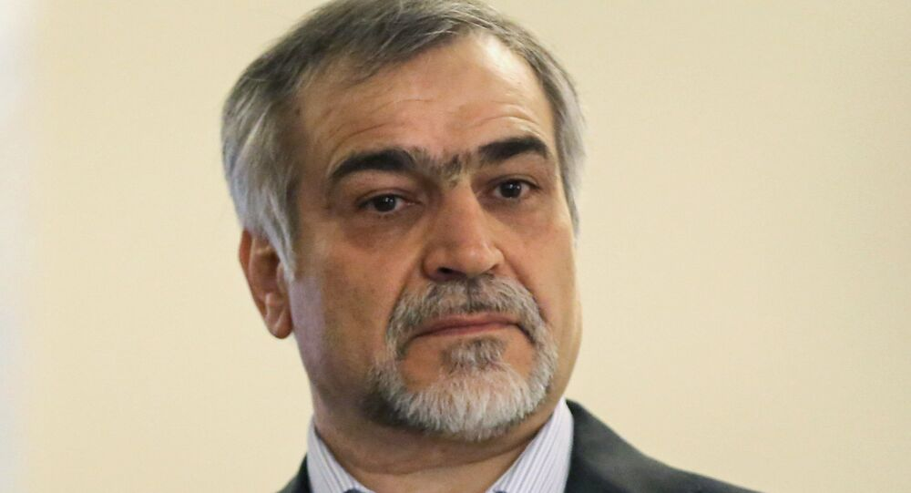 Hossein Fereydoon, irmão do presidente iraniano