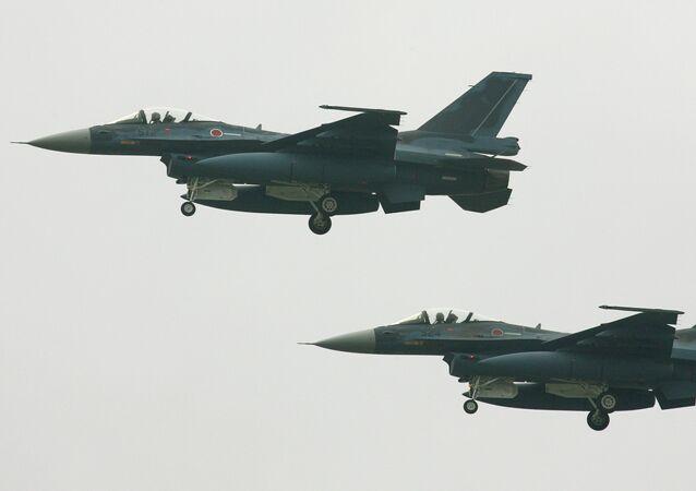 Caças F-2 japoneses