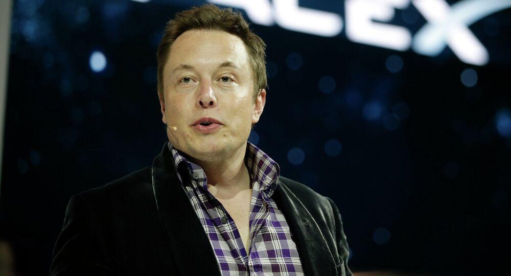 Fundador das empresas SpaceX e Tesla, Elon Musk
