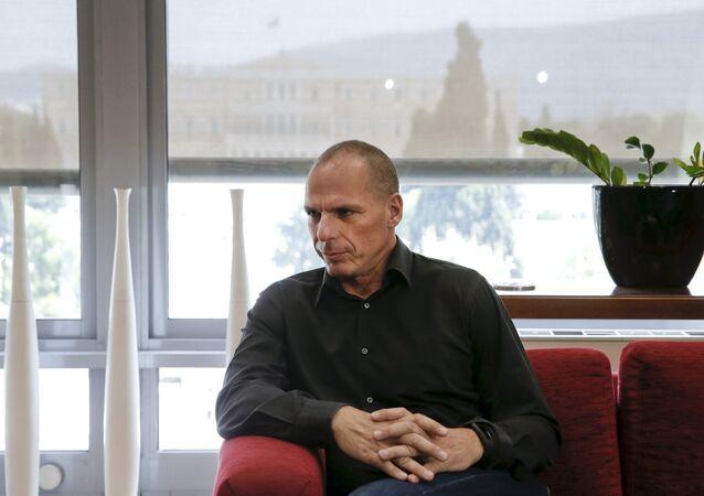 Ministro de Finanças da Grécia, Yannis Varoufakis