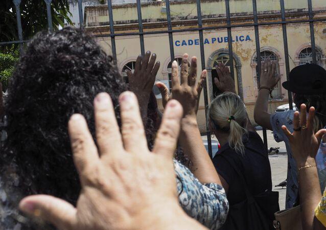 Rebelião no Complexo Penintenciário Anísio Jobim, em Manaus, deixou 56 mortos em janeiro