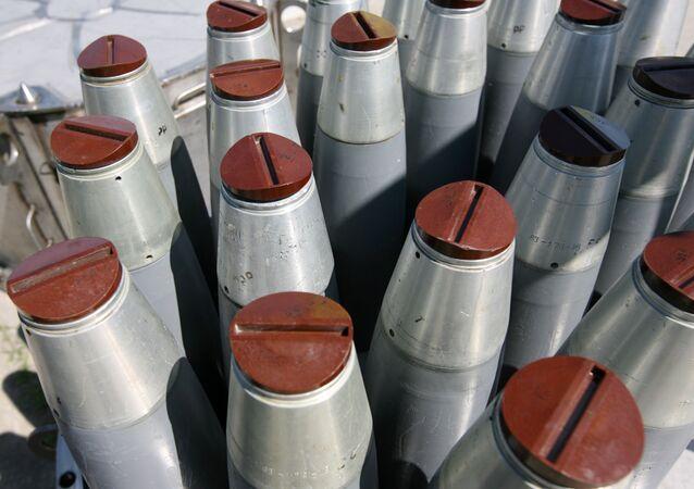 Bombas de fósforo (foto de arquivo)
