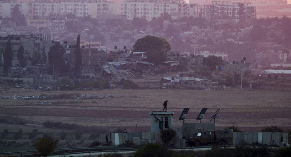 Fronteira entre Israel e Faixa de Gaza (arquivo)