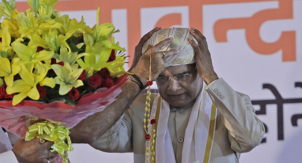 Ram Nath Kovind, presidente eleito da Índia