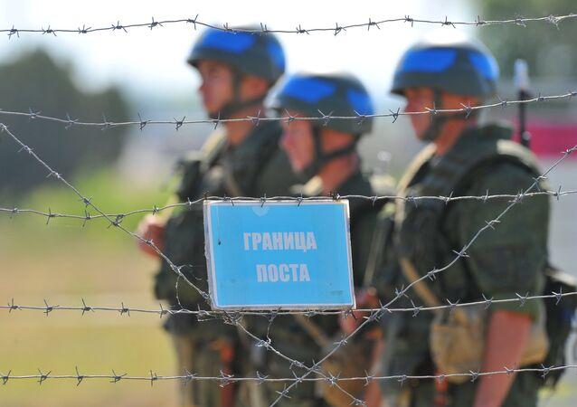 Pacificadores russos na Transnístria
