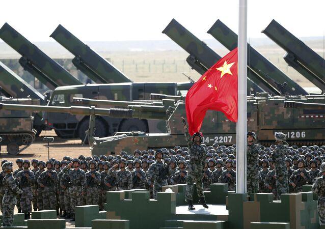Desfile militar na China