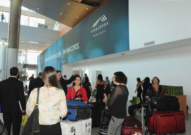 Concessionária alega que movimento de passageiros em Viracopos caiu 52% em 2016