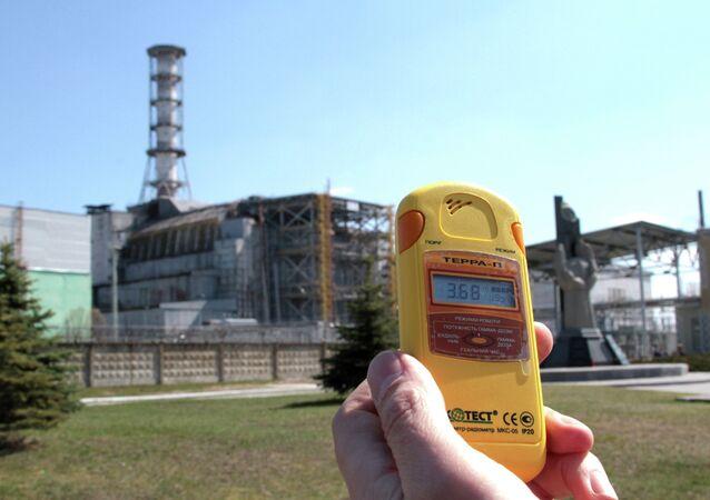 Zona de exclusão perto da usina nuclear de Chernobyl, Ucrânia (imagem de arquivo)