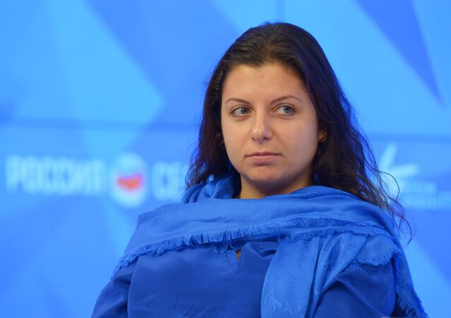 Editora-chefe da Spuntik e RT, Margarita Simonyan (foto de arquivo)