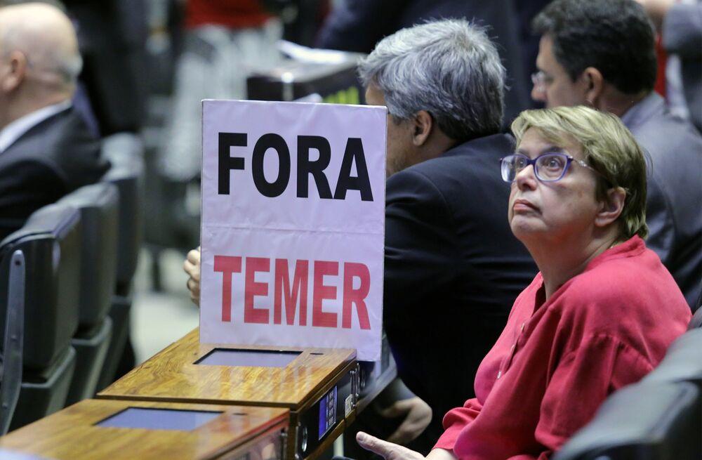 Deputada Margarida Salomão (PT-MG), uma das defensoras do afastamento de Michel Temer da presidência