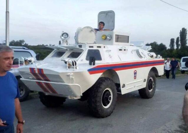 Representantes do Ministério para Situações de Emergência, Abkházia