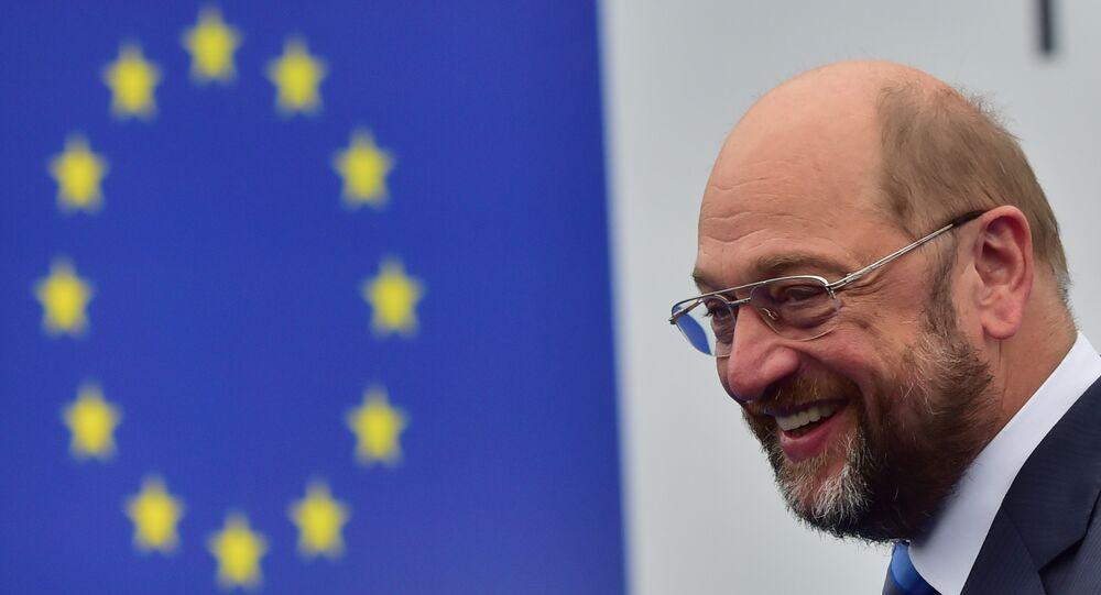 O ex-presidente do Parlamento Europeu, o alemão Martin Schultz