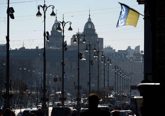 A rua Kreschatik, em Kiev (foto de arquivo)