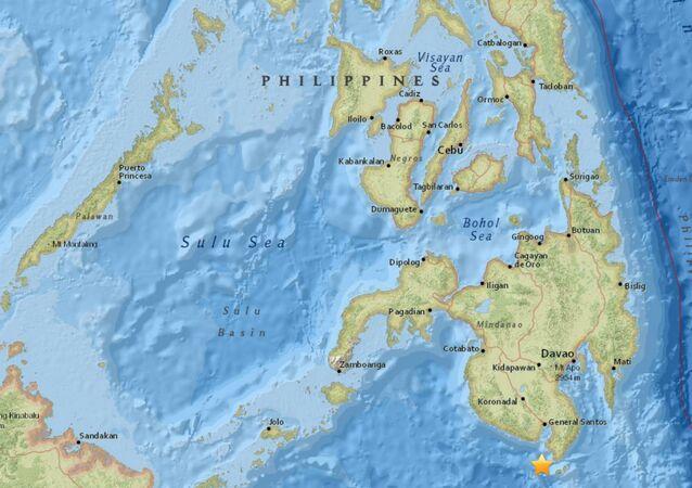 Epicentro do abalo se deu 22 quilômetros da cidade de General Santos, província de Cotabato Sul