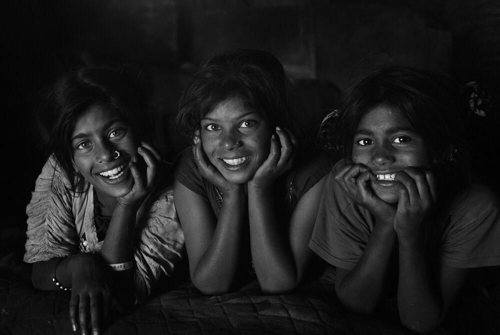 """A foto da série """"O Grito Silencioso"""", de Shahnevaz Khan (Bangladesh), que foi premiada pela Al-Mayadin TV e ficou em terceiro lugar na nomeação """"Retrato. Heróis do nosso tempo"""""""