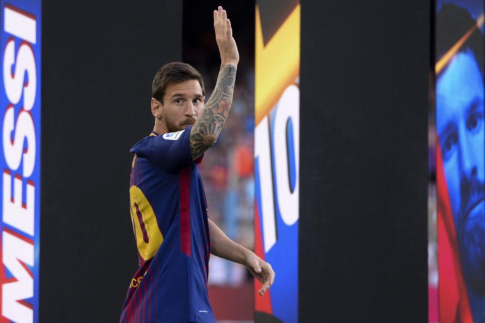 Lionel Messi, do Barcelona