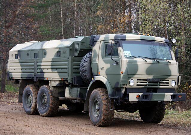Um Kamaz 5350 (foto de arquivo)