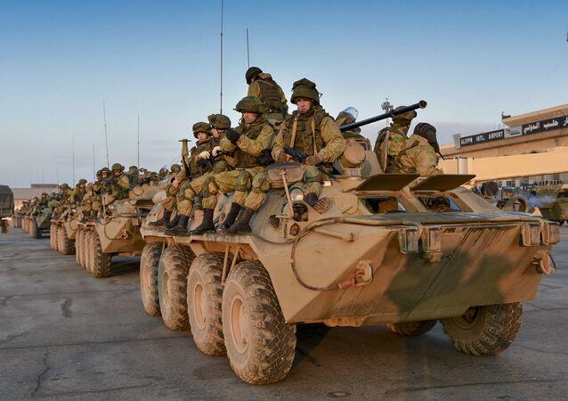 Tropas russas na Síria (foto de arquivo)