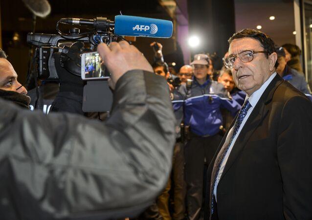 High Negotiations Committee (HNC) spokesman Riyad Naasan Agha (Syria's main opposition body ) (File)