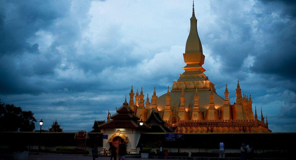 Vientiane, capital do Laos