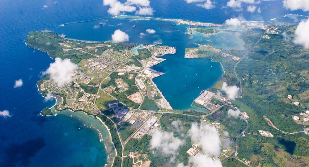 Base militar estadunidense na ilha de Guam, Micronésia
