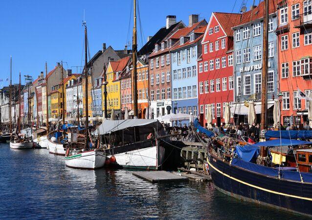 Copenhague, a capital de Dinamarca (foto de arquivo)