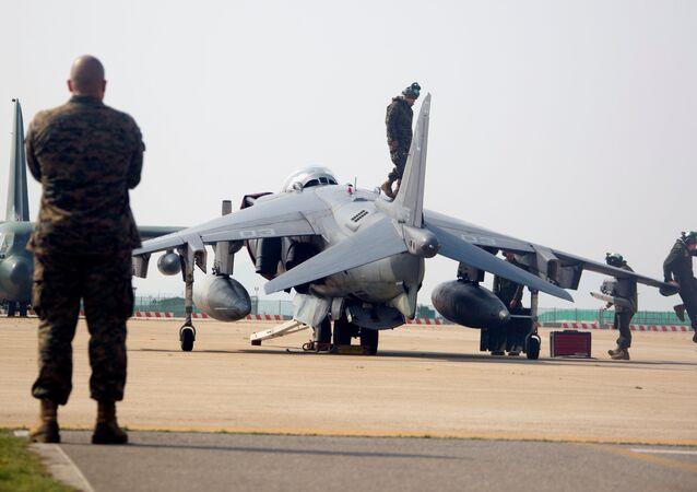 As manobras militares conjutas dos EUA e a Coreia do Sul
