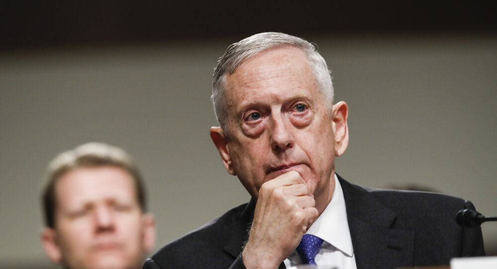 Chefe do Pentágono, James Mattis