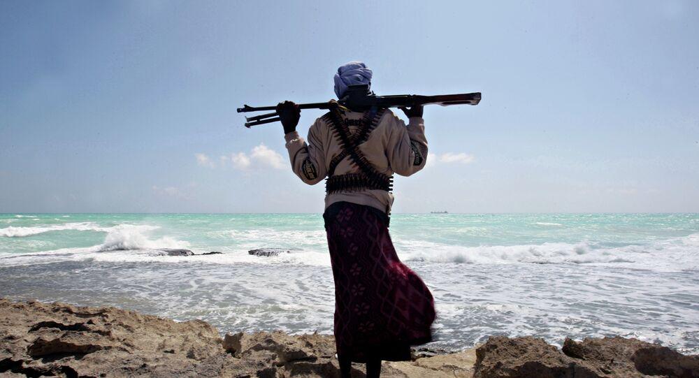 Um pirata somali