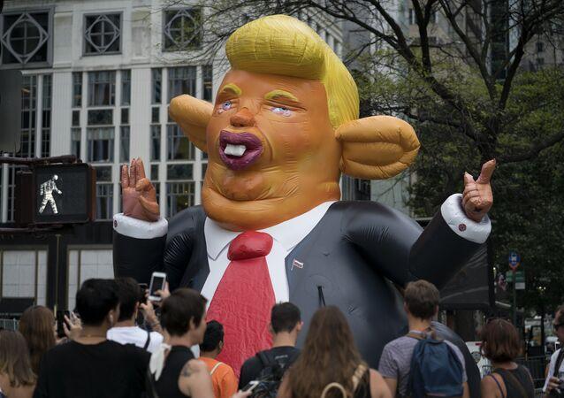 Pixuleco de Trump