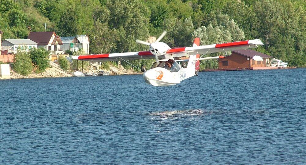 O avião anfíbio Borey