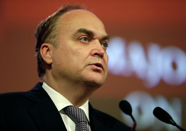 Russia's Deputy Minister of Defense Anatoly Antonov