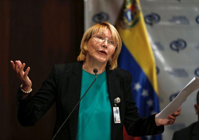 Luisa Ortega Díaz, ex-procuradora-geral da Venezuela (arquivo)
