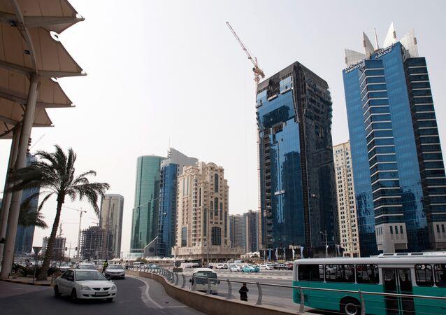 A capital do Qatar, Doha.
