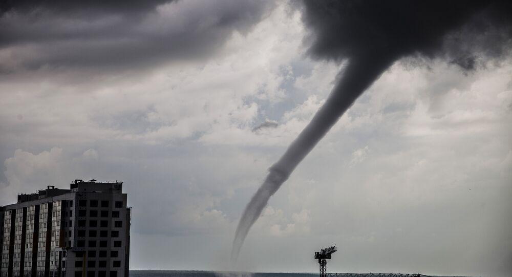 Tornado em Surgut (foto de arquivo)
