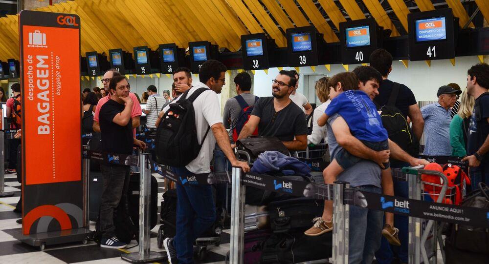 Aeroporto de Congonhas teve lucrode R$ 137 mihões no primeiro semestre