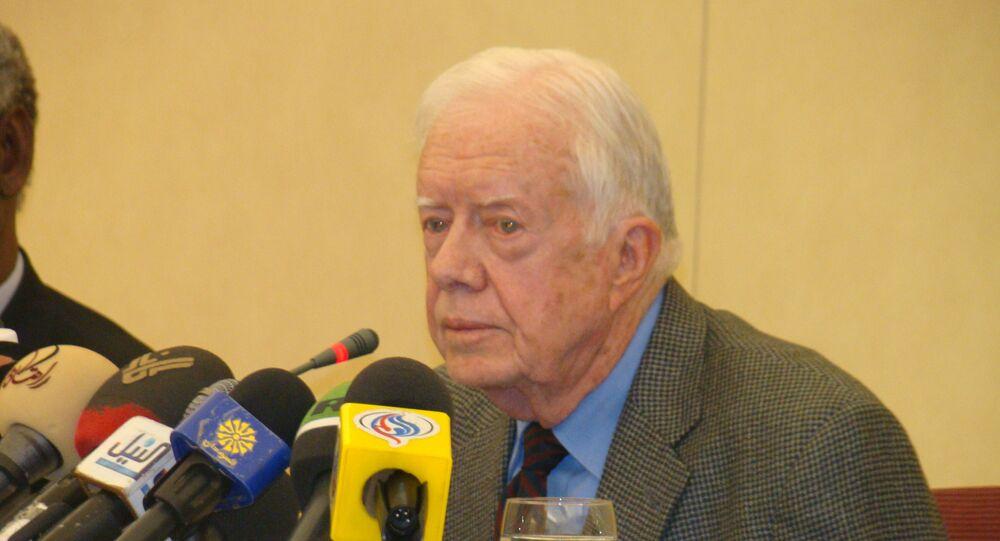 Jimmy Carter, ex-presidente dos Estados Unidos