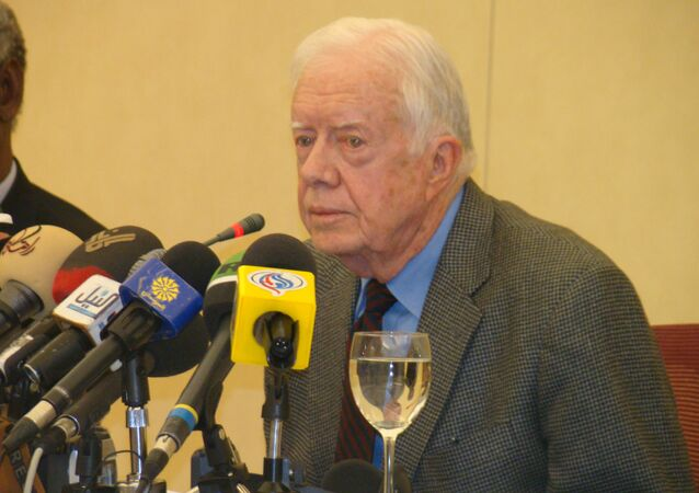 Jimmy Carter, ex-presidente dos Estados Unidos