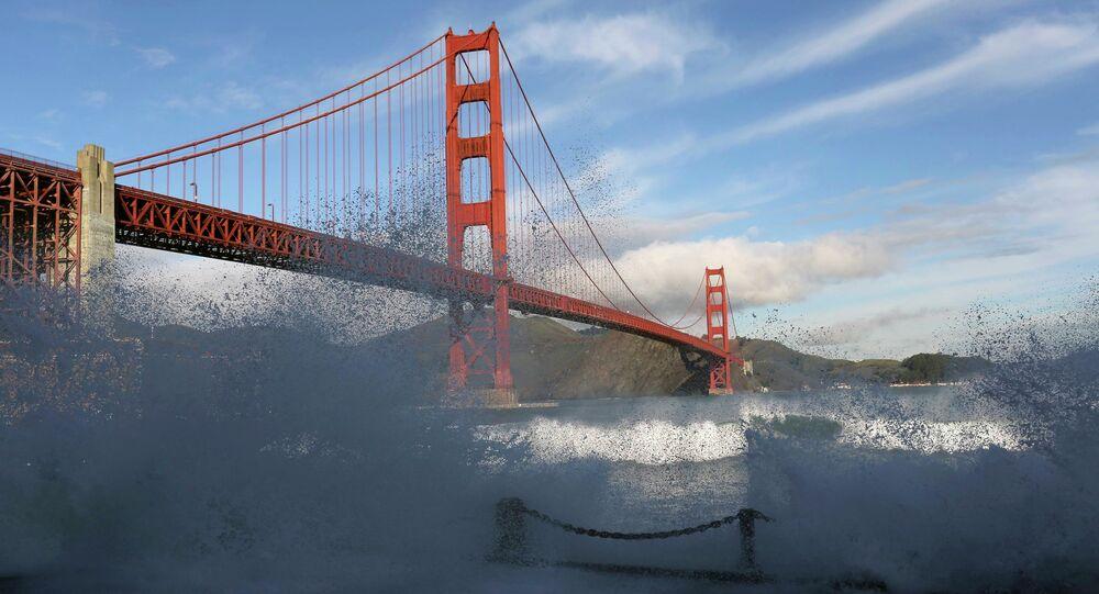 Ponte Golden Gate de São Francisco