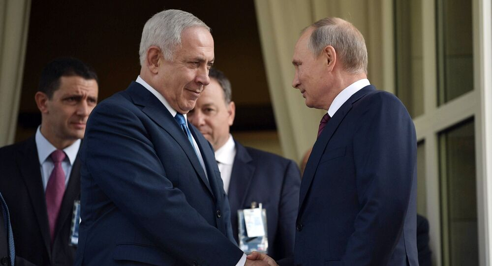 Encontro de Benjamin Netanyahu e Vladimir Putin, Sochi, 23 de agosto de 2017