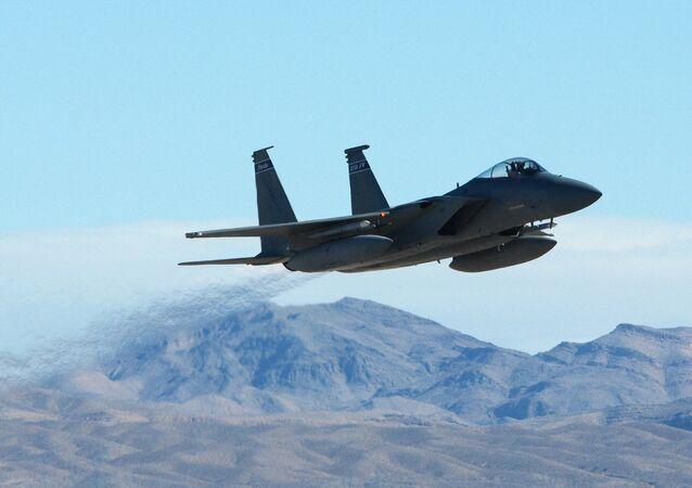 Caça norte-americana F-15 Eagle