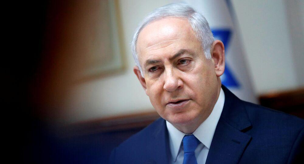 Benjamin Netanyahu, premiê de Israel