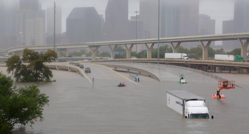 Efeitos do furacão Harvey em Houston, Texas