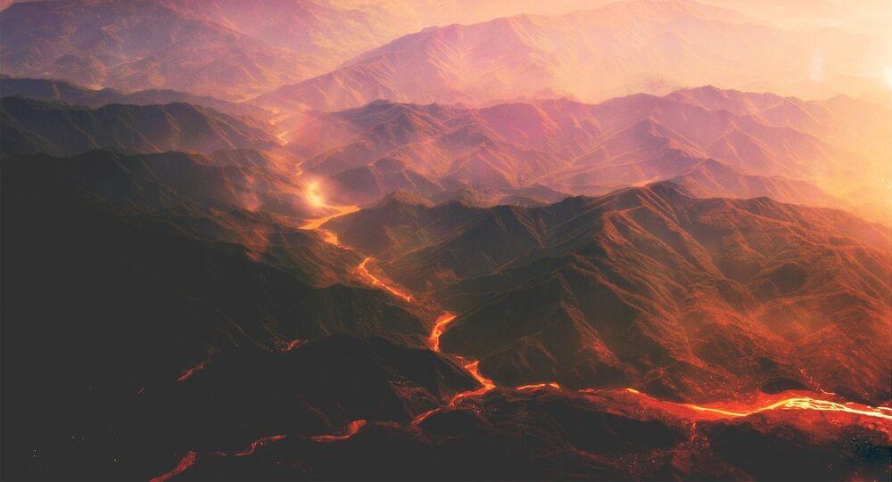 Caldeira vulcânica