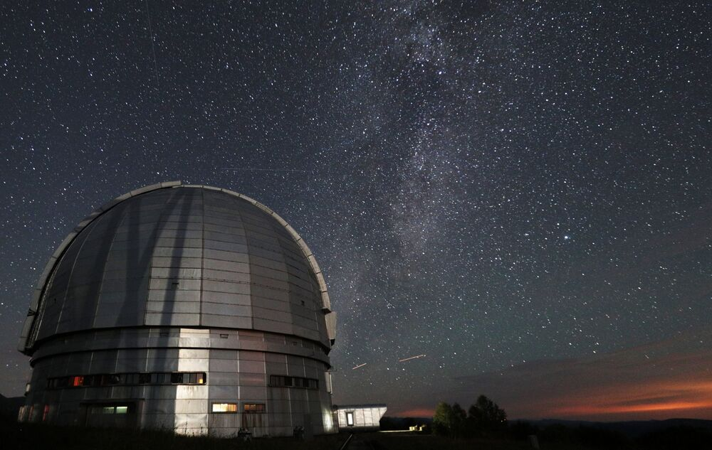O observatório astrofísico especial foi fundado em 1966