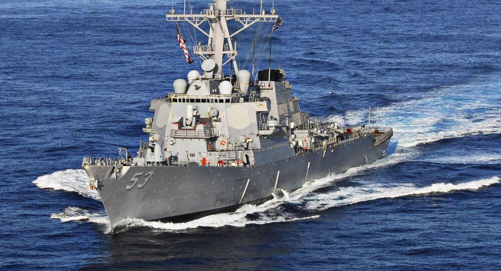 Destróier norte-americano USS John Paul Jones